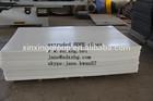 manufacturer glass filled high density HDPE plastic sheet/plate/board