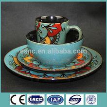 16pcs stoneware handpainting dinnerware