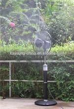 2014 New Product Indoor/outdoor Mist Fan price Industrial Water Mist Fan