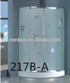 217b-a estetik tasarım duş aksesuarları/prefabrik banyo duş/buhar odası duş sauna