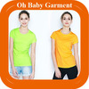 Women Plain Round Neck T Shirt Blank Bright Color T Shirt Good Quality T Shirt With Wholesale Price