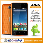 factory sale Android 4.4 3G mobile phone dual sim