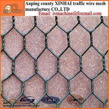 anping hexagonal mesh with Galvanized treat from China