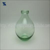 Hand Blown Art Glass Vase Glass, Glass Bottle, Jar For Home Deco