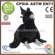 2014 OEM factory popular black bird stuffed toys