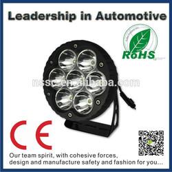 China supplier aluminum housing 4x4 10w cree led focus light 70w 12v 24v