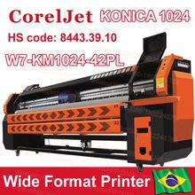 grande formato impressora jato de tinta para impressora konica cabeçote 1024
