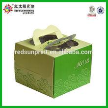 Food-grade Cupcake Boxes, Cake Packaging Box Printing