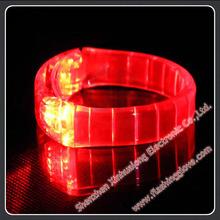 Profitable Business !!! Led Bracelet !! Hot Sale Flashing Led Flashing Bracelet Factory supply Remote Controlled Led Bracelet