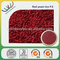 Estratto di lievito di riso rosso campione gratuito kasher haccp fda fornitore porcellana 4% monacolina lievito di riso rosso estratto