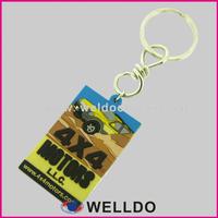 Soft pvc rubber keychain, custom silicone rubber keyring