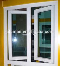 Wholesale crystal clear tilt&turn glass window