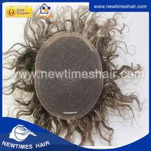 Wholesale Best Quality Human Hair Toupee Men' s Toupee For Men