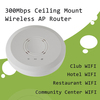 High power poe wireless ceiling AP 300Mbps -- XD9610S