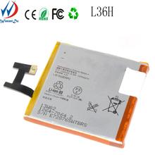Li-polymer 3.7v 2330mah LT39h battery for SONY Xperi Z Ultrafor