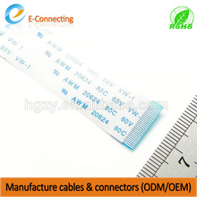 Wholesale customized FFC Wire cable & mobile phone/android phone teflon cable shield wire