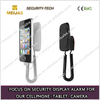 Alarming multifunction flexible mobile holder