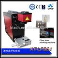 China, fabricante de alta precisão portátil do laser da fibra máquina de impressão do cartão de metal, placa de metal pequeno laser máquina da marcação
