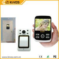 Kivos 3.5 inch peephole digital camera detection