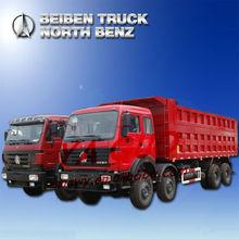 BEIBEN (NORTH BENZ) NG80 360HP 12 WHEELS 8X4 EURO2 INTERNATIONAL DUMP TRUCK (ND33102D35J)