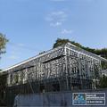 Iso prefabricada de acero estructura de la escuela / comedor