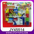 2 in 1 bambini di plastica educativo scacchiera gioco in vendita