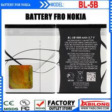 Lithium Full Capacity 890mAh External Mobile Battery for Nokia 5300 5320 6120c 7360 6120ci 3220 3230 5070