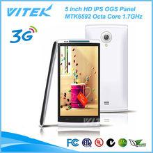 China Express 5 inch 2M+8M Camera 2 SIM Android 3G Video Phone