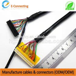 OEM/ODM lvds vga rca converter cable