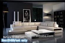 Annual hot-selling sofa /Italian genuine leather sofa set/beige brown sofa