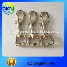 China supplier small metal slide hook,hook buckles,snap hook