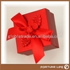 Happy small wedding candy packing paper box with Chinese knot