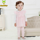 Top Latest High Quality Kids Dress Cheap Newborn Baby Clothing Set For Sale