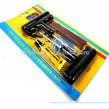 Emergency Car Van Motorcycle Tubeless Tyre Puncture Repair Kit Tool 3 Strip