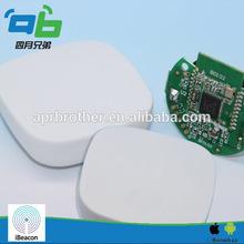 ibeacon in wireless networking equipment for indoor positioning
