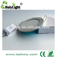 new led light with CE RoHS certificate 3 years warranty round 6W led panel light China manufacturer