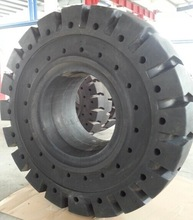 China tire factory prices solid tire 1400-24