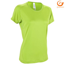 Wholesale blank stretch 95 cotton 5 spandex t shirts women