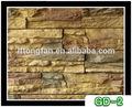 Decoração de interiores paredes de pedra