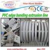 Multi-strips of PVC furniture edge bandings machine line