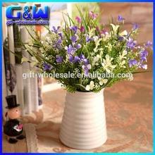 Decortive orquídeas artificiais de plástico do tipo de flor flor arranjos Yiwu fábrica diretamente