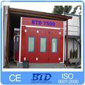 Muebles aerosol cabina de pintura de arena herramientas aerosol aprobado CE de la máquina de pintura
