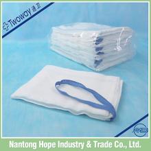 hospital hemostatic absorbent gauze lap sponge