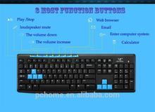 Slim keyboard 2.4g wireless computer keyboard for smart TV