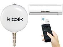 3.5mm Plug Intelligent Mobile Smart IR Remote Control (White)