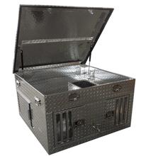Diamond Deluxe Aluminum Dog Cage Kennel/Dog Transpaortation Box