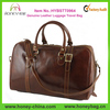Men Genuine Leather Luggage Travel Bag Leather Travel Bag