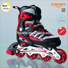 Kids Adjustable Inline Skate Aggressive Inline Child Roller Skates Shoe