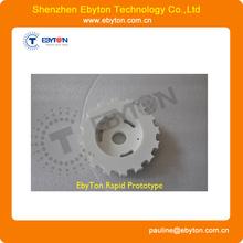 custom pet plastic gears mockup manufacturer