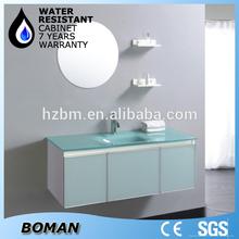 glass basin modern blue pearl granite bathroom vanity tops